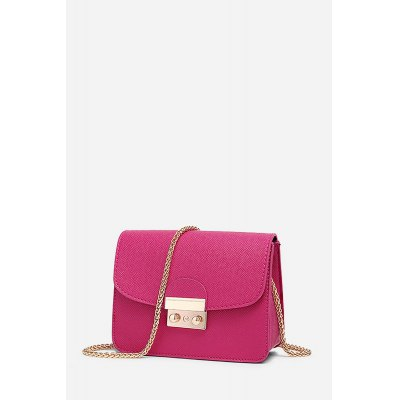 Leisure Cross Body Single Shoulder  Chain Bag for WomenHandbags<br>Leisure Cross Body Single Shoulder  Chain Bag for Women<br><br>Closure Type: Buckle<br>Material: PU<br>Package Size(L x W x H): 18.50 x 8.50 x 14.50 cm / 7.28 x 3.35 x 5.71 inches<br>Package weight: 0.7400 kg<br>Packing List: 1 x Single Shoulder Bag<br>Product Size(L x W x H): 18.00 x 8.00 x 14.00 cm / 7.09 x 3.15 x 5.51 inches<br>Product weight: 0.6000 kg<br>Style: Casual<br>Type: Shoulder bag