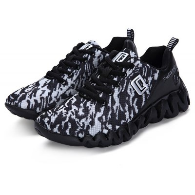 Breathable Trendy Mesh Sports Shoes for Men