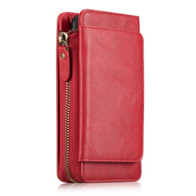 Retro Zipper Wallet Phone Cover Case for iPhone 7iPhone Cases/Covers<br>Retro Zipper Wallet Phone Cover Case for iPhone 7<br><br>Compatible for Apple: iPhone 7<br>Features: Anti-knock, FullBody Cases, Wallet Case, With Credit Card Holder<br>Material: PU Leather<br>Package Contents: 1 x Phone Case<br>Package size (L x W x H): 18.00 x 11.00 x 5.00 cm / 7.09 x 4.33 x 1.97 inches<br>Package weight: 0.2100 kg<br>Product size (L x W x H): 15.00 x 8.00 x 4.00 cm / 5.91 x 3.15 x 1.57 inches<br>Product weight: 0.1860 kg<br>Style: Cool, Solid Color, Retro
