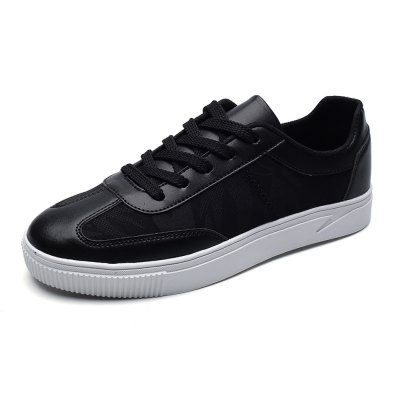 Stylish Split Joint Skateboarding Shoes for MenCasual Shoes<br>Stylish Split Joint Skateboarding Shoes for Men<br><br>Closure Type: Lace-Up<br>Contents: 1 x Pair of Shoes<br>Function: Slip Resistant<br>Materials: Rubber, Mesh, Leather<br>Occasion: Casual, Daily<br>Outsole Material: Rubber<br>Package Size ( L x W x H ): 33.00 x 22.00 x 11.00 cm / 12.99 x 8.66 x 4.33 inches<br>Package Weights: 0.77kg<br>Seasons: Autumn,Spring,Summer<br>Style: Leisure, Casual<br>Type: Skateboarding Shoes<br>Upper Material: Leather,Mesh