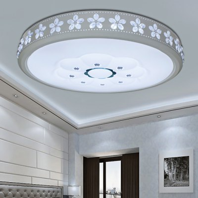Modern Simple Led Ceiling Light 220VFlush Ceiling Lights<br>Modern Simple Led Ceiling Light 220V<br><br>Illumination Field: 12 - 20sqm<br>Package Contents: 1 x Ceiling Light, 1 x Remote Controller<br>Package size (L x W x H): 52.00 x 52.00 x 21.00 cm / 20.47 x 20.47 x 8.27 inches<br>Package weight: 3.5300 kg<br>Product size (L x W x H): 42.00 x 42.00 x 11.00 cm / 16.54 x 16.54 x 4.33 inches<br>Product weight: 3.0000 kg<br>Sheathing Material: Iron, Acrylic<br>Type: Ceiling Lights<br>Voltage (V): AC 220