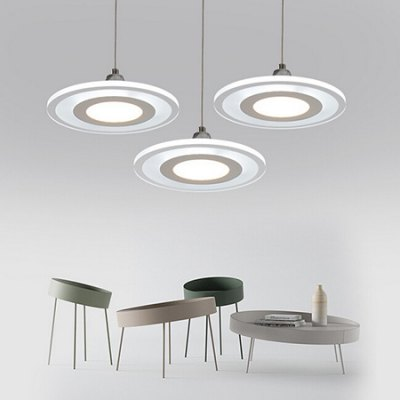 Modern Simple Iron Restaurant LED Chandelier 220VPendant Light<br>Modern Simple Iron Restaurant LED Chandelier 220V<br><br>Available Light Color: Warm White<br>Beam Angle: 360 degree<br>Body Color: White<br>Bulb Included: Yes<br>CCT/Wavelength: 3000K<br>Function: Home Lighting, Studio and Exhibition Lighting<br>Illumination Field: 8 - 12sqm<br>Luminous Flux: 3400LM<br>Output Power: 36W<br>Package Contents: 1 x Light, 1 x Assembly Parts<br>Package size (L x W x H): 80.00 x 37.00 x 15.00 cm / 31.5 x 14.57 x 5.91 inches<br>Package weight: 7.0300 kg<br>Product size (L x W x H): 70.00 x 27.00 x 12.00 cm / 27.56 x 10.63 x 4.72 inches<br>Product weight: 6.0000 kg<br>Sheathing Material: Acrylic, Iron<br>Style: Trendy<br>Type: Chandeliers<br>Voltage (V): AC 220