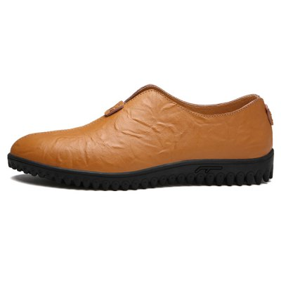 Anti-slip Rubber Soles Shoes for MenMen's Oxford<br>Anti-slip Rubber Soles Shoes for Men<br><br>Contents: 1 x Pair of Shoes<br>Function: Slip Resistant<br>Materials: Genuine Leather, Rubber<br>Outsole Material: Rubber<br>Package Size ( L x W x H ): 33.00 x 24.00 x 13.00 cm / 12.99 x 9.45 x 5.12 inches<br>Package Weights: 0.92kg<br>Seasons: Autumn,Spring,Summer<br>Style: Leisure, Casual<br>Type: Casual Shoes<br>Upper Material: Genuine Leather