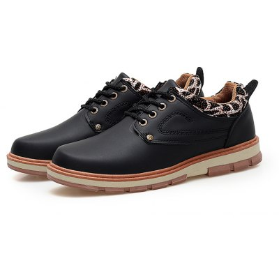 Microfiber Leather All-match Shoes for Men