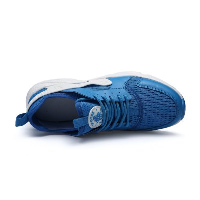 Breathable All-match Comfortable Sneakers for MenAthletic Shoes<br>Breathable All-match Comfortable Sneakers for Men<br><br>Contents: 1 x Pair of Shoes<br>Materials: Mesh, PU, Rubber<br>Occasion: Casual<br>Outsole Material: Rubber<br>Package Size ( L x W x H ): 33.00 x 22.00 x 11.00 cm / 12.99 x 8.66 x 4.33 inches<br>Package Weights: 0.77kg<br>Seasons: Autumn,Spring,Summer<br>Type: Casual Shoes<br>Upper Material: Mesh,PU