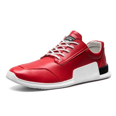 Space PU Casual Sneakers for MenAthletic Shoes<br>Space PU Casual Sneakers for Men<br><br>Closure Type: Lace-Up<br>Contents: 1 x Pair of Shoes<br>Function: Slip Resistant<br>Materials: Rubber, PU<br>Occasion: Casual<br>Outsole Material: Rubber<br>Package Size ( L x W x H ): 33.00 x 22.00 x 11.00 cm / 12.99 x 8.66 x 4.33 inches<br>Package Weights: 0.77kg<br>Seasons: Autumn,Spring,Summer<br>Style: Leisure, Casual<br>Type: Casual Shoes<br>Upper Material: PU