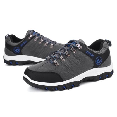 Plus Size Outdoor Hiking / Climbing Casual Shoes for MenAthletic Shoes<br>Plus Size Outdoor Hiking / Climbing Casual Shoes for Men<br><br>Closure Type: Lace-Up<br>Contents: 1 x Pair of Shoes<br>Materials: Suede, Rubber<br>Outsole Material: Rubber<br>Package Size ( L x W x H ): 33.00 x 22.00 x 11.00 cm / 12.99 x 8.66 x 4.33 inches<br>Package Weights: 0.97kg<br>Style: Casual, Leisure<br>Type: Casual Shoes<br>Upper Material: Suede