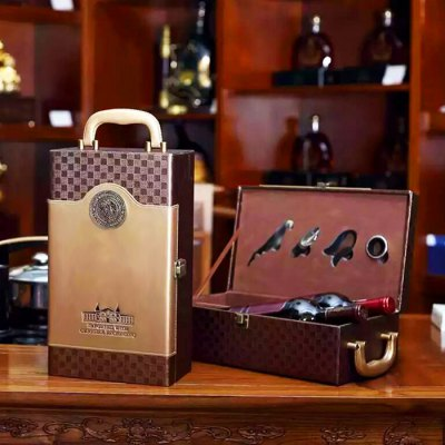 High-end Wine Box  for 2 Wines