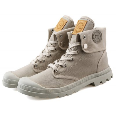 High Top Casual Canvas Shoes / Boots for Men