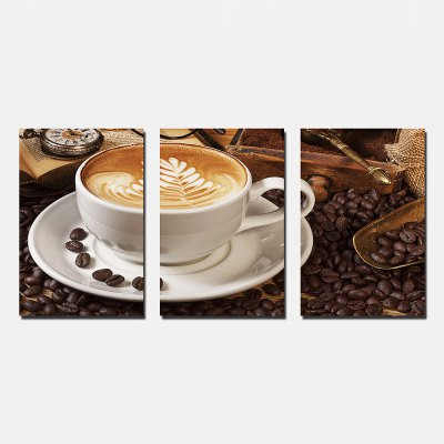 YSDAFEN Coffee Cup Print Abstract Wall Decor
