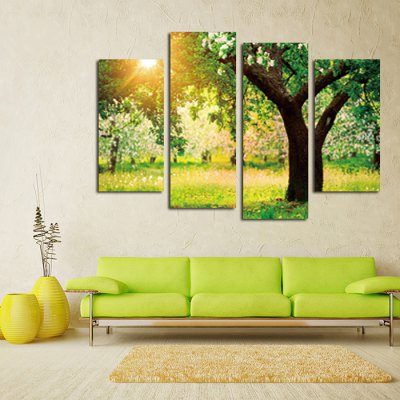 4PCS Sunset Tree Landscape Printed Canvas Wall StickerWall Stickers<br>4PCS Sunset Tree Landscape Printed Canvas Wall Sticker<br><br>Art Style: Oil Paiting<br>Functions: Decorative Wall Stickers<br>Hang In/Stick On: Bedrooms,Cafes,Hotels,Living Rooms,Offices<br>Material: Canvas<br>Package Contents: 4 x Sunset Tree Landscape Printed Canvas Wallpaper<br>Package size (L x W x H): 42.00 x 6.00 x 6.00 cm / 16.54 x 2.36 x 2.36 inches<br>Package weight: 0.4000 kg<br>Product size (L x W x H): 120.00 x 80.00 x 0.10 cm / 47.24 x 31.5 x 0.04 inches<br>Product Type: Art Print<br>Product weight: 0.3400 kg<br>Subjects: Landscape