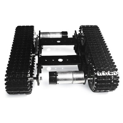 SZDoit Mini T100 Aluminum Alloy RC Tank Chassis DIY Kit