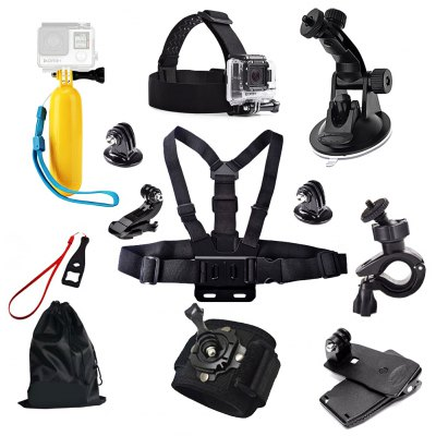 Professional Action Camera Accessories Sets