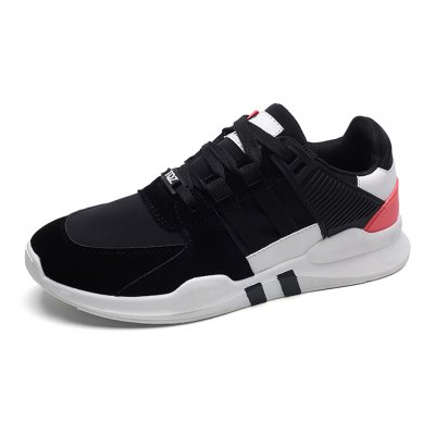 Comfortable Breathable Jogging Sneakers for MenHiking Shoes<br>Comfortable Breathable Jogging Sneakers for Men<br><br>Contents: 1 x Pair of Shoes<br>Function: Slip Resistant<br>Materials: Fabric, PU, Rubber<br>Outsole Material: Rubber<br>Package Size ( L x W x H ): 33.00 x 22.00 x 11.00 cm / 12.99 x 8.66 x 4.33 inches<br>Package Weights: 0.77kg<br>Type: Casual Shoes<br>Upper Material: Cloth,PU