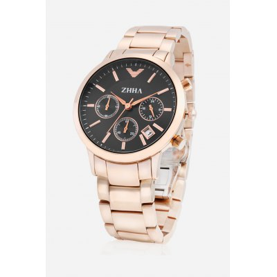 Women Watch with 3 Small Dials / Calendar WindowWomens Watches<br>Women Watch with 3 Small Dials / Calendar Window<br><br>Band material: Stainless Steel<br>Case material: Stainless Steel<br>Clasp type: Butterfly clasp<br>Display type: Analog<br>Movement type: Quartz watch<br>Package Contents: 1 x Watch<br>Package size (L x W x H): 23.10 x 5.00 x 2.10 cm / 9.09 x 1.97 x 0.83 inches<br>Package weight: 0.2200 kg<br>Product size (L x W x H): 22.10 x 4.00 x 1.10 cm / 8.7 x 1.57 x 0.43 inches<br>Product weight: 0.1242 kg<br>Shape of the dial: Circular<br>Style: Fashion&amp;Casual<br>The band length: 18.1cm<br>The band width: 1.8cm<br>The dial diameter: 4cm<br>The dial thickness: 1.1cm<br>Watches categories: Women<br>Wearable length: 20.1 - 22.1cm