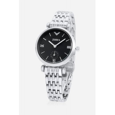 Fashion Women Watch with Small Second DialWomens Watches<br>Fashion Women Watch with Small Second Dial<br><br>Band material: Stainless Steel<br>Case material: Alloy<br>Clasp type: Butterfly clasp<br>Display type: Analog<br>Movement type: Quartz watch<br>Package Contents: 1 x Watch<br>Package size (L x W x H): 17.50 x 4.30 x 1.80 cm / 6.89 x 1.69 x 0.71 inches<br>Package weight: 0.2200 kg<br>Product size (L x W x H): 16.50 x 3.30 x 0.80 cm / 6.5 x 1.3 x 0.31 inches<br>Shape of the dial: Circular<br>Style: Fashion&amp;Casual<br>The band length: 13.2cm<br>The band width: 1.2cm<br>The dial diameter: 3.3cm<br>The dial thickness: 0.8cm<br>Watches categories: Women<br>Water resistance : Life water resistant<br>Wearable length: 12.3 - 16.5cm