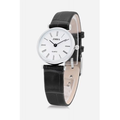 Casual Women Watch with Leather BandWomens Watches<br>Casual Women Watch with Leather Band<br><br>Band material: Leather<br>Case material: Alloy<br>Clasp type: Pin buckle<br>Display type: Analog<br>Movement type: Quartz watch<br>Package Contents: 1 x Watch<br>Package size (L x W x H): 21.00 x 3.50 x 1.60 cm / 8.27 x 1.38 x 0.63 inches<br>Package weight: 0.0600 kg<br>Product size (L x W x H): 20.00 x 2.50 x 0.60 cm / 7.87 x 0.98 x 0.24 inches<br>Product weight: 0.0221 kg<br>Shape of the dial: Circular<br>The band length: 17.5cm<br>The band width: 1.1cm<br>The dial diameter: 2.5cm<br>The dial thickness: 0.6cm<br>Watches categories: Women<br>Water resistance : Life water resistant<br>Wearable length: 14.1 - 17.7cm