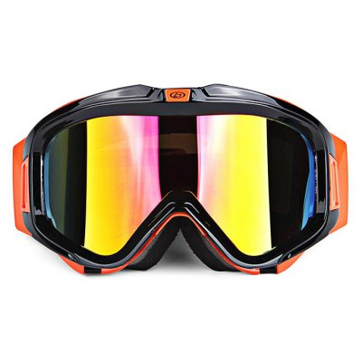 OBAOLAY H007 Double Detachable PC Lens Skiing Glasses