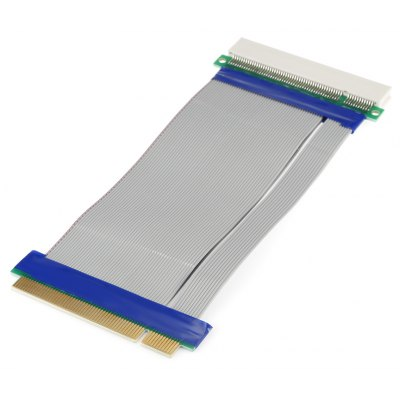 PCI-E Male to Female Riser Card Flexible Extender Cable