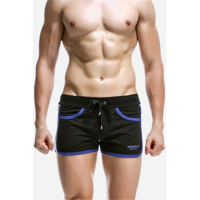 Masculine Comfortable Casual Breathable Cotton Sports Shorts