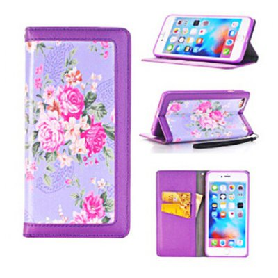 Card Holder Stand Protective Case for iPhone 7 Plus