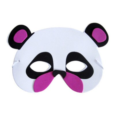 EVA Performance Props Cartoon Mask of Panda