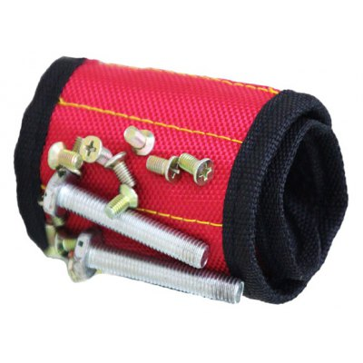 Magnetic Wristband with Strong Magnets for Holding Screws Nails Bolts Drill Bits