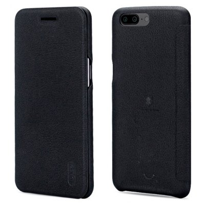 LENUO PU Leather Full Cover Case for OnePlus 5