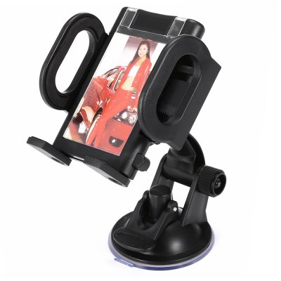 BH - 8 Car Dashboard Windshield Suction Phones Stand
