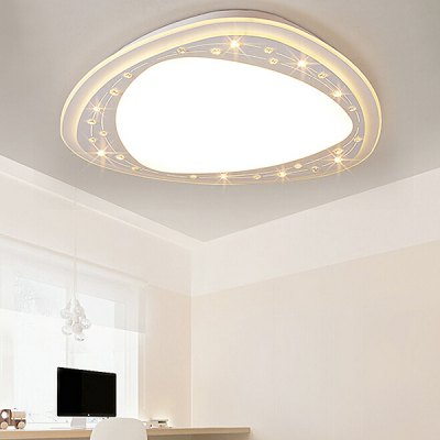 Ultra-thin Special Shaped Dimming Ceiling Light 220V