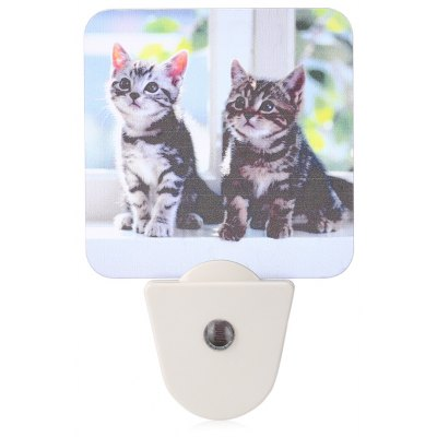 LY GY - A023 Dog and Cat Painting Frosted LED Wall Night Light