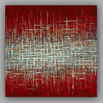 Hand Painted Abstract Oil Painting Decorative Wall Art