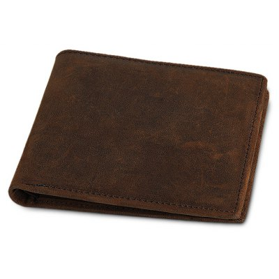 MinimalistBifold Leather Wallet for Men