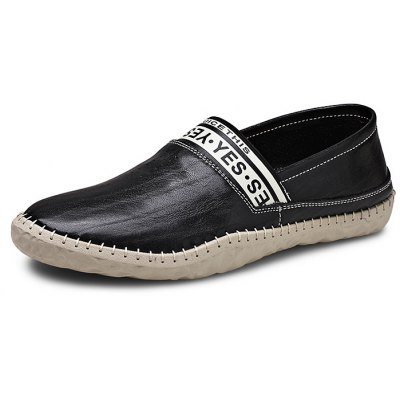 Men Comfortable Genuine Leather Slip-on Shoes