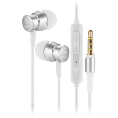Baseus Wired In-ear Stereo Earphones with Microphone