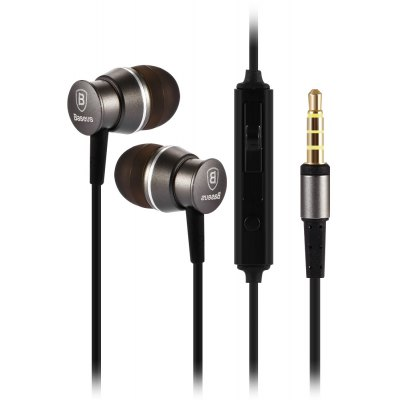 Gearbest Baseus Wired In-ear Stereo Earphones with Microphone