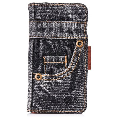 Denim and TPU Material Design Cover Case for iPhone 6 / 6S