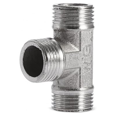 3 Way Stainless Steel Outer Connector Garden Hose Adaptor