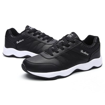 Trendy MD Soles Sneakers for MenMen's Sneakers<br>Trendy MD Soles Sneakers for Men<br><br>Closure Type: Lace-Up<br>Contents: 1 x Pair of Shoes<br>Function: Slip Resistant<br>Materials: MD, Leather<br>Occasion: Casual<br>Outsole Material: MD<br>Package Size ( L x W x H ): 33.00 x 22.00 x 11.00 cm / 12.99 x 8.66 x 4.33 inches<br>Package Weights: 0.77kg<br>Seasons: Autumn,Spring,Summer<br>Style: Leisure, Casual<br>Type: Sports Shoes<br>Upper Material: Leather