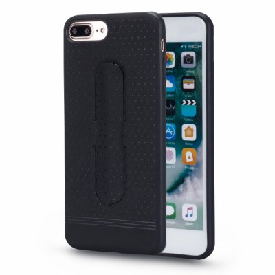 LENUO Invisible Holder PU Cover Phone Case for iPhone 7 Plus