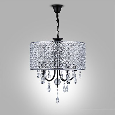 WENTUO QM - 88136F - 4 Romantic Crystal Pendant LightChandelier<br>WENTUO QM - 88136F - 4 Romantic Crystal Pendant Light<br><br>Battery Included: No<br>Brand: Wentuo<br>Bulb Base: E14<br>Bulb Included: No<br>Features: Crystal<br>Light Direction: Downlight<br>Number of Bulb: 2 Bulbs<br>Number of Bulb Sockets: 2<br>Package Contents: 1 x Pendant Light, 1 x Set of Install Accessory<br>Package size (L x W x H): 41.50 x 41.50 x 22.50 cm / 16.34 x 16.34 x 8.86 inches<br>Package weight: 4.0400 kg<br>Product weight: 3.2000 kg<br>Shade Material: Iron, Crystal<br>Style: Modern/Contemporary<br>Suggested Room Size: 10 - 15?<br>Suggested Space Fit: Indoors<br>Type: Pendant Light<br>Voltage ( V ): 110 - 120