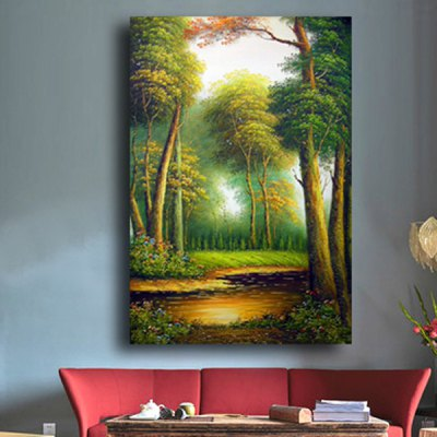 City Forest Landscape Printing Canvas Wall Decoration