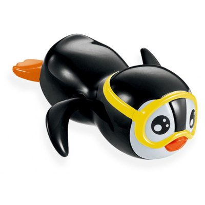 Wind Up Swimming Penguin Bath Toy