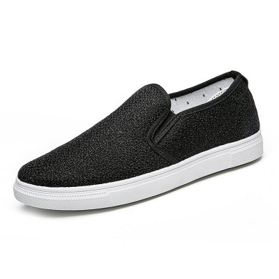 Breathable Linen Slip-on Lazy Shoes for MenCasual Shoes<br>Breathable Linen Slip-on Lazy Shoes for Men<br><br>Contents: 1 x Pair of Shoes<br>Materials: Linen, Rubber<br>Outsole Material: Rubber<br>Package Size ( L x W x H ): 33.00 x 24.00 x 13.00 cm / 12.99 x 9.45 x 5.12 inches<br>Package Weights: 0.72kg<br>Type: Casual Shoes