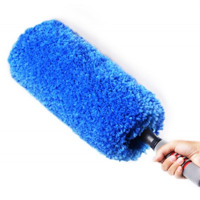 CARSETCITY Microfiber 360-degree Sweep Duster Telescopic