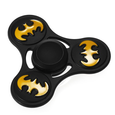 Classic Bat Pattern Alloy ADHD Fidget Tri-spinnerFidget Spinners<br>Classic Bat Pattern Alloy ADHD Fidget Tri-spinner<br><br>Center Bearing Material: Stainless Steel<br>Frame material: Alloy<br>Package Contents: 1 x Fidget Spinner<br>Package size (L x W x H): 9.00 x 11.00 x 1.50 cm / 3.54 x 4.33 x 0.59 inches<br>Package weight: 0.1010 kg<br>Product size (L x W x H): 7.00 x 7.00 x 1.30 cm / 2.76 x 2.76 x 0.51 inches<br>Product weight: 0.0700 kg<br>Swing Numbers: Tri-Bar<br>Type: Triple Blade, Bat
