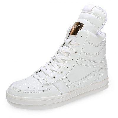 High Top Fashion Casual Skateboarding Shoes for Men