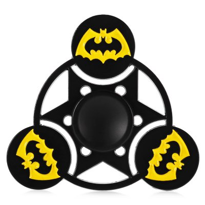 Bat Cloak Pattern Alloy ADHD Fidget Tri-spinnerFidget Spinners<br>Bat Cloak Pattern Alloy ADHD Fidget Tri-spinner<br><br>Center Bearing Material: Stainless Steel<br>Frame material: Alloy<br>Package Contents: 1 x Fidget Spinner<br>Package size (L x W x H): 9.00 x 11.00 x 1.50 cm / 3.54 x 4.33 x 0.59 inches<br>Package weight: 0.0770 kg<br>Product size (L x W x H): 5.80 x 5.80 x 1.20 cm / 2.28 x 2.28 x 0.47 inches<br>Product weight: 0.0460 kg<br>Swing Numbers: Tri-Bar<br>Type: Triple Blade, Cool, Bat