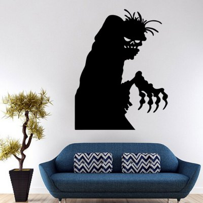 Cartoon Halloween Removable Waterproof Wall Sticker