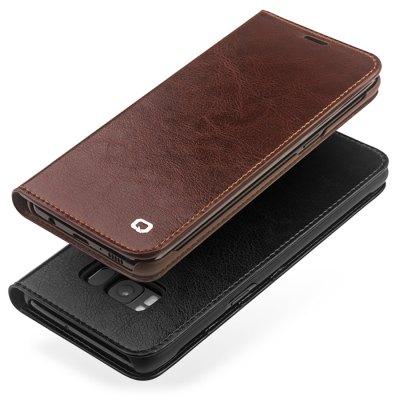 QIALINO Full Body Phone CaseSamsung S Series<br>QIALINO Full Body Phone Case<br><br>Brand: QIALINO<br>Compatible with: Samsung Galaxy S8<br>Features: Anti-knock, Full Body Cases<br>Material: Genuine Leather<br>Package Contents: 1 x Phone Case<br>Package size (L x W x H): 19.00 x 14.00 x 3.00 cm / 7.48 x 5.51 x 1.18 inches<br>Package weight: 0.2120 kg<br>Product size (L x W x H): 15.00 x 7.40 x 1.30 cm / 5.91 x 2.91 x 0.51 inches<br>Product weight: 0.0780 kg<br>Style: Cool, Modern